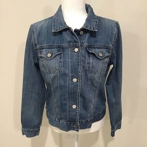GAP women's jean jacket EUC, Large